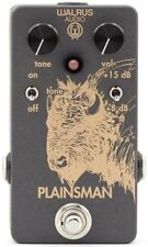 Walrus Plainsman dual stage clean boost - Guitar Foot Pedal