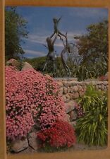 Unposted Postcard The Bronze statue, Abbey gardens, Tresco, Isles of Scilly