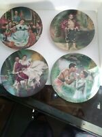 """1985 KNOWLES """"THE KING AND I"""" COLLECTOR PLATES Complete Set Of 4"""