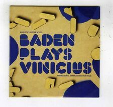 CD (BRESIL)SINGLE PROMO (NEW) BADEN POWELL PLAYS VINICIUS