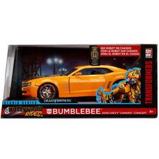 Jada 2006 Chevrolet Camaro Concept Transformers 1:24 99382 Bumble Bee Yellow