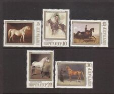 Horses Russian & Soviet Union Stamps