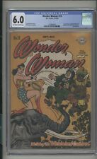 Wonder Woman #19 CGC 6.0 (OW/W) FN DC Comics 1946 Golden Age