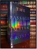 The Passage ✎SIGNED✎ by JUSTIN CRONIN Mint 1st Edition First Printing Hardback