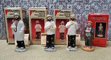 1 Emmett Kelly & 3 Emmett Kelly Jr. Vtg Figurines Ornaments Flambro & Grossman