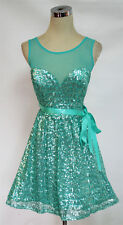 WINDSOR Mint Cocktail Prom Dance Party Dress 7 -$85 NWT