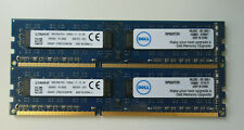 16GB KIT 2x 8GB Kingston PC-Ram /  K66GKY-ETB / 8GB 2Rx8 PC3- 12800U-11-12-B1