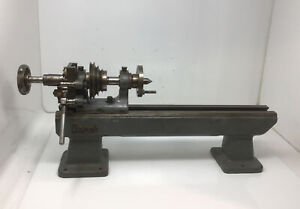 LORCH Watchmakers Jewelers Lathe BED & HEADSTOCK NOT COMPLETE Free Ship