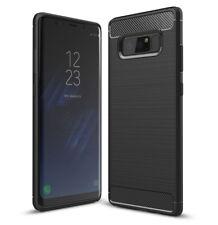 SDTEK Funda para Samsung Galaxy Note 8 (Note8) [Fibra de Carbon TPU] Case Cover