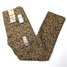 Levi's Slim Straight Harvest Gold Spivey Camo Twill Cargo Pants Mens W30 x L30