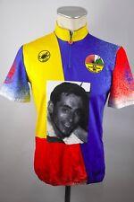 Fausto COPPI Lanzani CYCLING CYCLING BICICLETTA RUOTA MAGLIA TG. 4 S/M BW 51cm pe1
