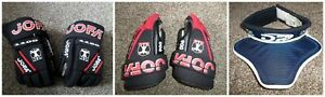 Jofa Hockey Gloves 1100 & 900 Junior & Youth+DR Ice Hockey Goalie Neck Protector
