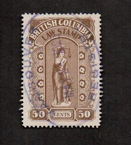 Canada—British Columbia, Law Stamp.