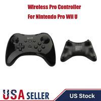 1x For Nintendo Wii U PRO Classic Wireless Remote Controller Gamepad Joystick US