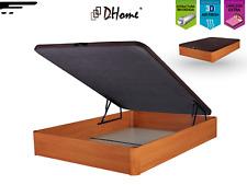 Canape Abatible Tapizado 3D CEREZO esquinas macizas haya canapé madera