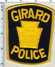 Girard Police (Pennsylvania) Shoulder Patch from 1985