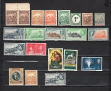 Barbados - Lot Of Early Unused Stamps {BAR21}