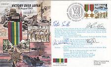JS45/16BA  Victory over Japan Flown RAF Brize Norton to Kadena Japan.Signed Crew