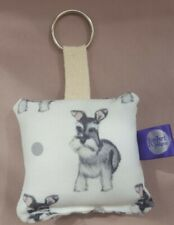 Schnauzer Standard Breed of Dog Matching LanyardKeyring Key RingBookmark