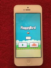 Apple iPhone 5 64GB With FIappy Bird