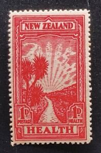 New Zealand 1933 Health Stamp 1d Pathway - Mint Hinged