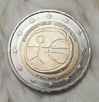 ___2 Euro Münze___ -_-(*Fehlprägung*!)-_- Deutschland 2009 (10-Jahre-WWU)