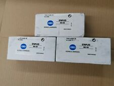 Konica Minolta Staples, 3 Boxes, MS-5D 7640-0008-38 502ML