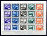 Sellos de España 1938 nº 849 En honor del Ejercito y la Marina sellos nuevos A1