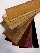 Drechselholz Edelholz Für Dekupiersäge- Holz Furnier Schmuckholz 2-5mm 1kg Paket