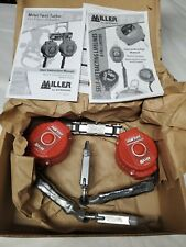 New Miller Turbo Lite Twin Turbo Personal Fall Limiter Open Box Withmanuals