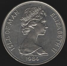 More details for 1984 isle of man crown | british coins | pennies2pounds