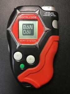 Digimon Digital Monster Digivice D-scanner / D-tector Ver 1.0 Black Red Bandai