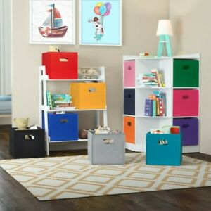 Krout Folding Fabric Bin SetOrganize any space in your home with this folding s