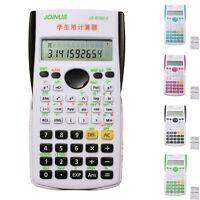 240 Functions 2 Line Display 12 Digital Electronic Scientific Student Calculator