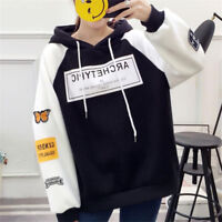 Korean Style Hoodies Women Thicken Sweater Girls Casual Sweatshirts New Fashion