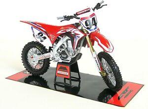 Véhicules-jouets Motocross Moto Jouet Honda Crf 450 Team Hrc Ken Roczen Voie 1: