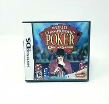World Championship Poker Deluxe Series (Nintendo DS) DS Complete CIB