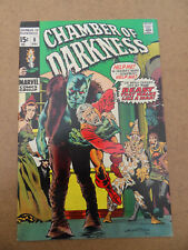 Chamber Of Darkness 8 . B.Wrightson Cover / S.Ditko Art .Marvel 1970 .VF - minus