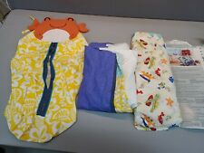 Carter's Baby Laguna Collection Crib bedding Fitted sheet Ruffle & Diaper Stack