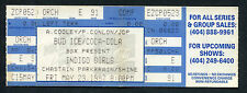1997 Indigo Girls Unused Full Concert Ticket Atlanta Shaming Of The Sun