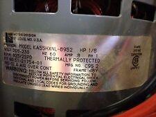 USED Emerson 1/8 HP 208-230v 8 Amp 825 RPM FAN MOTOR