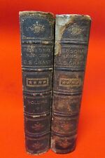 First Edition Books of  Major General Ulysses S. Grant Joint Resolution Congress