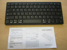 Black 2.4Ghz Wireless Bluetooth Keyboard for Selected Smart TV's