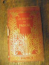 les dix sous de Pascal / Léon d'Avezan Bibliothèque des écoles et des familles