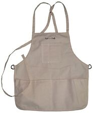 Style n Craft 60516 - 4 Pocket Loop Neck Apron in Canvas