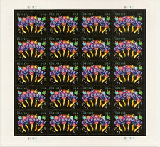 US 4502 Neon Celebrate forever sheet (20 stamps) MNH 2011