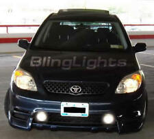 2003-2005 TOYOTA MATRIX WHITE HALO FOG LAMPS Angel eyes lights foglamps