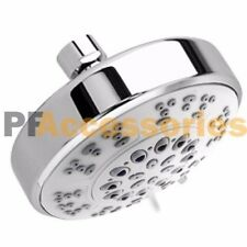 5 Setting Water Saving Multi-Function Bathroom Massage Shower Head Chrome 4 inch