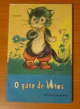 O Gato De Botas * (Portuguese) edicoes paulistas * Grimm 4th edition 1976