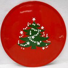 """WAECHTERSBACH china CHRISTMAS TREE pattern Chop Plate/Round Platter  12-1/4"""""""